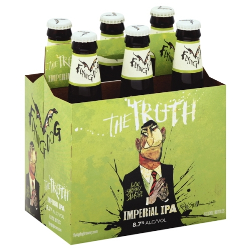 FLYING DOG THE TRUTH IMPERIAL IPA 12oz 6pk.