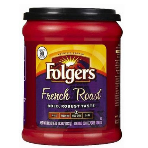 FOLGERS FRENCH ROAST  10.3oz