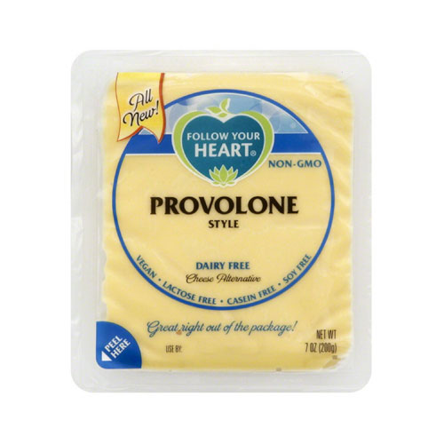 FOLLOW YOUR HEART VEGAN CHEESE SLICES PROVOLONE 7oz.