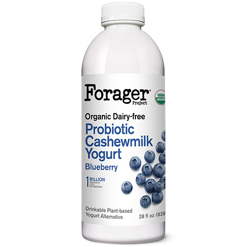 FORAGER ORGANIC DAIRY FREE PROBIOTIC CASHEWMILK YOGURT BLUEBERRY 28oz