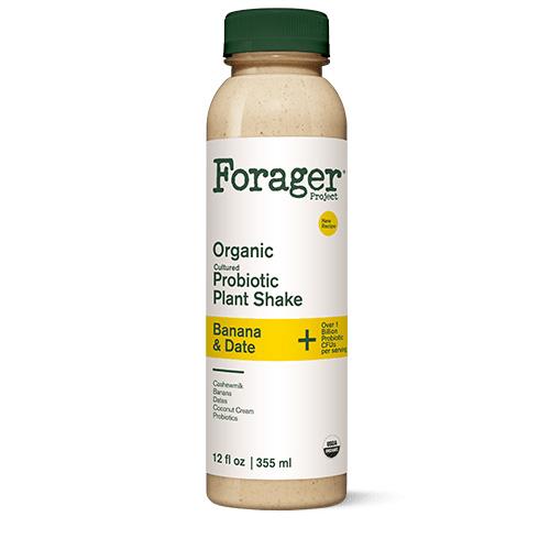 FORAGER ORGANIC DAIRY FREE PROBIOTIC PLANT SHAKE 12oz