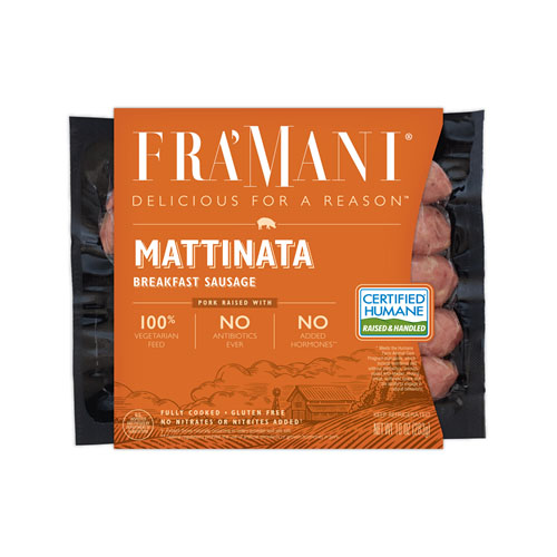 FRA'MANI MANTTINATA BREAKFAST SAUSAGE 8.5oz.