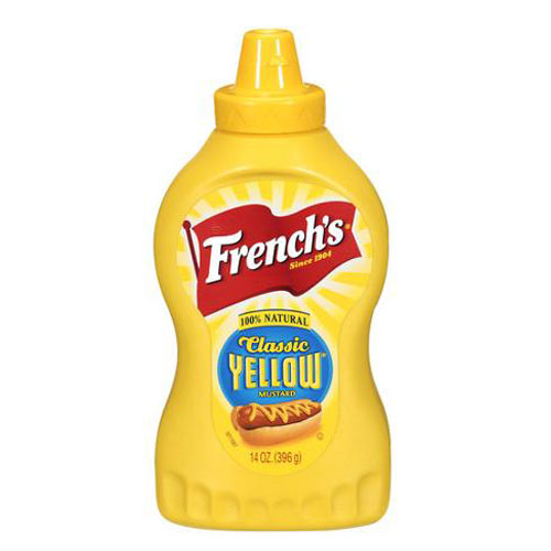 FRENCHS  CLASSIC YELLOW MUSTARD 14oz