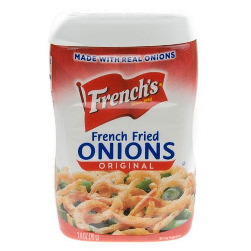 FRENCHS FRIED ONIONS 2.8oz