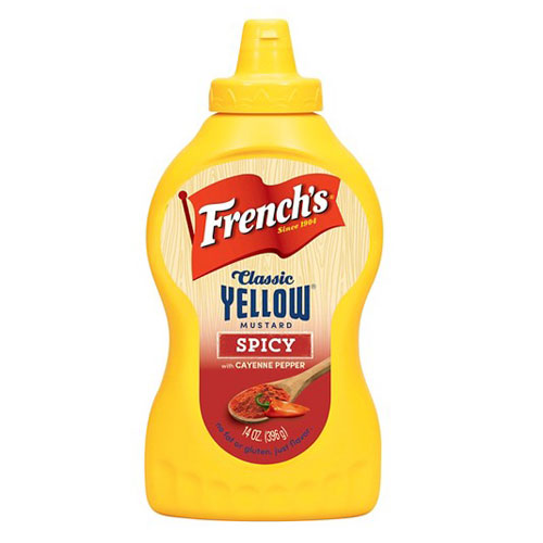 FRENCHS  YELLOW SPICY MUSTARD 14oz
