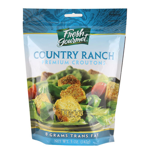 FRESH GOURMET COUNTRY RANCH CROUTONS 5oz