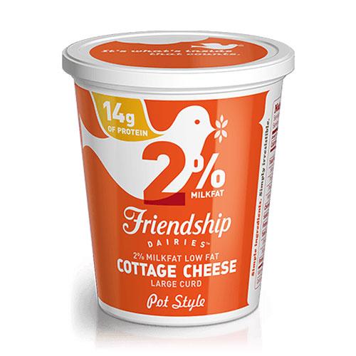 FRIENDSHIP 2% COTTAGE CHEESE 16oz.