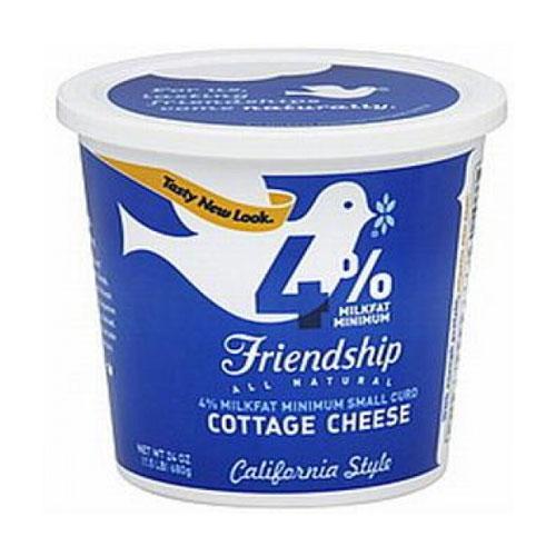 FRIENDSHIP 4% COTTAGE CHEESE 16oz.