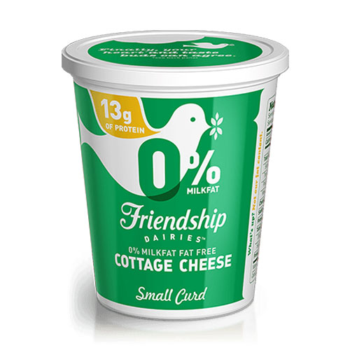 FRIENDSHIP COTTAGE CHEESE FAT FREE 16oz.