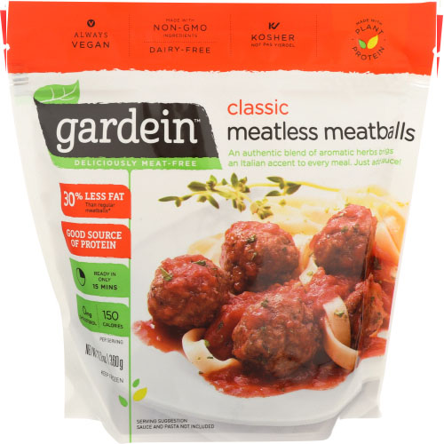 GARDEIN CLASSIC MEATLESS MEATBALLS 12.7oz