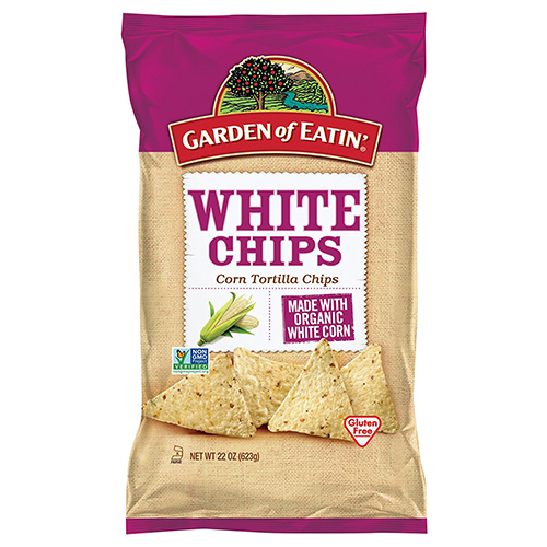 GARDEN OF EATIN' WHITE CHIPS CORN TORTILLA CHIPS 22oz