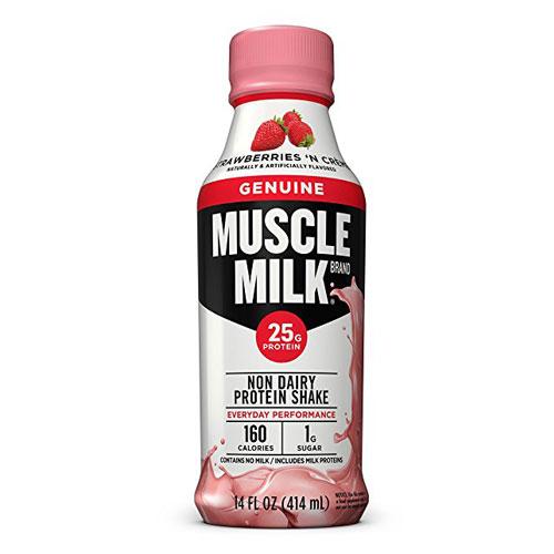 MUSCLE MILK ORIGINAL STRAWBERRIES N CREME 17oz