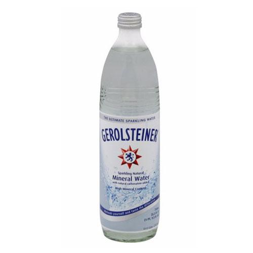 GEROLSTEINER MINERAL WATER 25.3oz