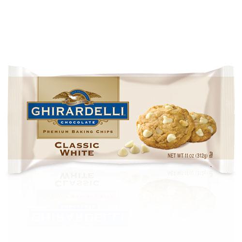 GHIRARDELLI BAKING CHIPS CLASSIC WHITE 11oz