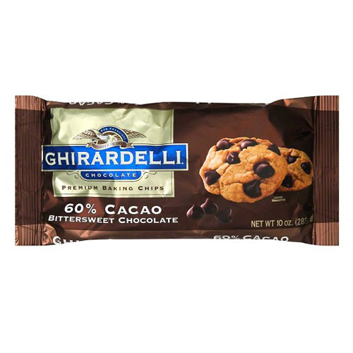 GHIRARDELLI BITTERSWEET CHOCOLATE 10oz