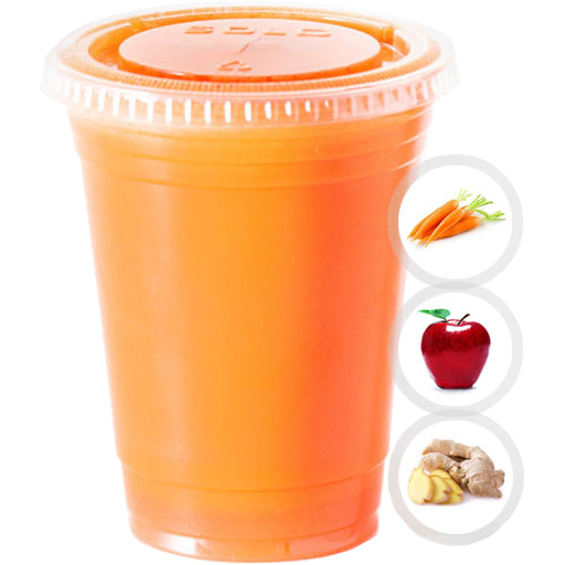 GINGER PUNCH (CARROT, APPLE, GINGER) SELECT 16oz OR 20oz