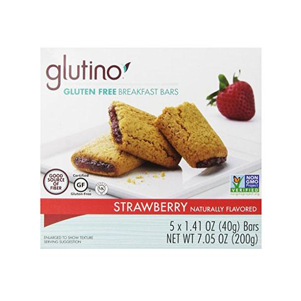 GLUTINO GLUTEN FREE OVEN BAKED BAR STRAWBERRY 7.05oz