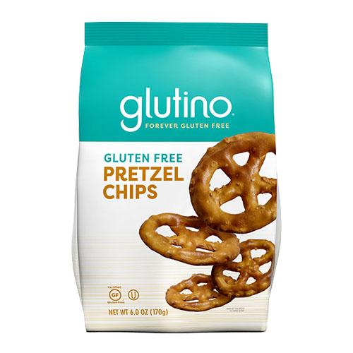 GLUTINO GLUTEN FREE PRETZEL CHIPS 6oz