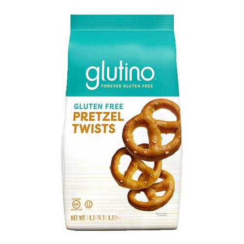 GLUTINO GLUTEN FREE PRETZEL TWISTS 8oz