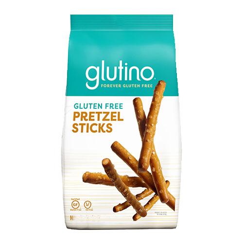 GLUTINO GLUTEN FREE PRETZELS STICKS 8oz