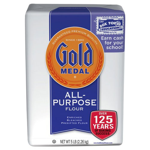 GOLD MEDAL  ALL PURPOSE FLOUR WHITE 5lb