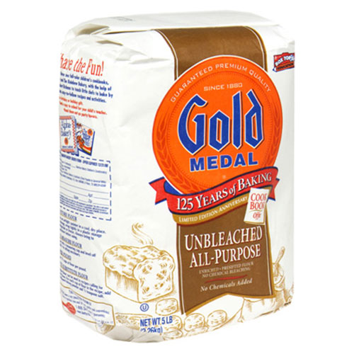 GOLD MEDAL FLOUR ALL PURPOSE UNBLEACHED 5lb