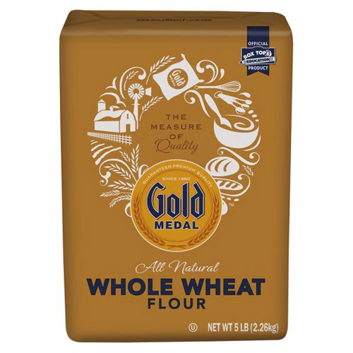 GOLD MEDAL FLOUR WHOLE WHEAT 5lb