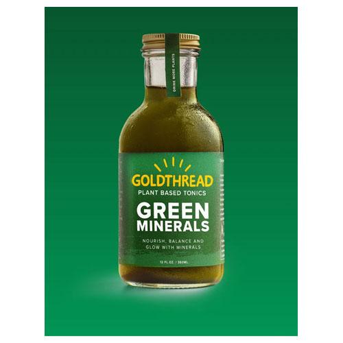 GOLDTHREAD PLANT BASED TONICS GREEN MINERALS 12oz