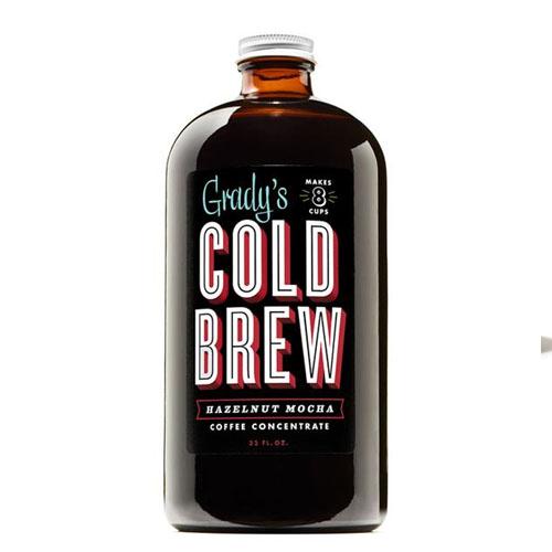 GRADY'S COLD BREW COFFEE CONCENTRATE HAZELNUT MOCHA 32oz
