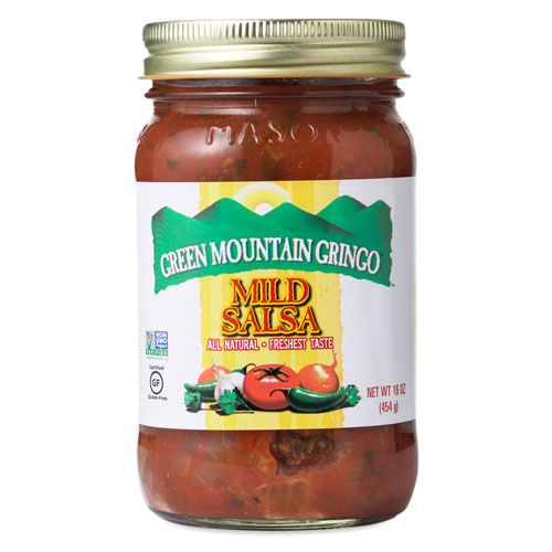 GREEN MOUNTAIN GRINGO SALSA MILD 16oz