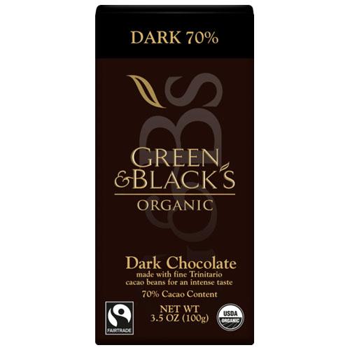 GREEN&BLACK'S ORGANIC DARK CHOCOLATE 85% 3.17oz