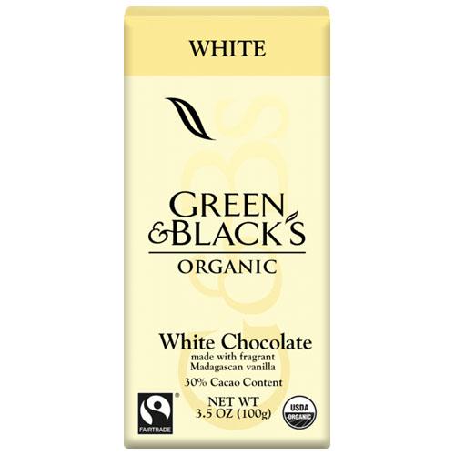 GREEN&BLACK'S ORGANIC WHITE CHOCOLATE 3.17oz
