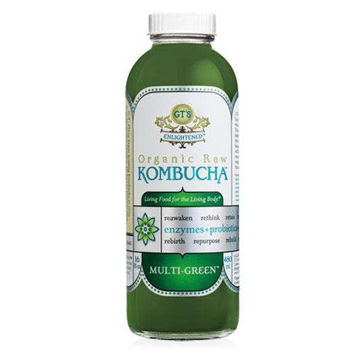 GTS KOMBUCHA MULTI GREEN 16.2oz