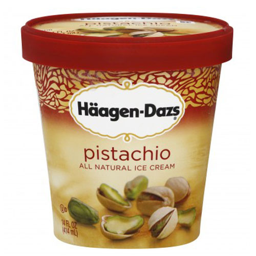 HAAGENDAZS ICE CREAM PISTACHIO 14oz