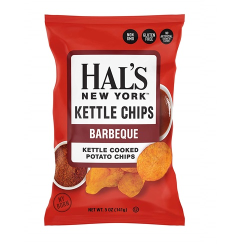 HAL'S NEW YORK KETTLE CHIPS BARBECUE 4.5oz.