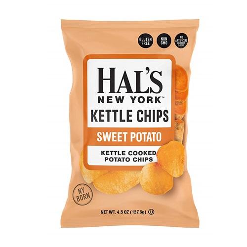 HAL'S NEW YORK KETTLE CHIPS SWEET POTATO 4.5oz