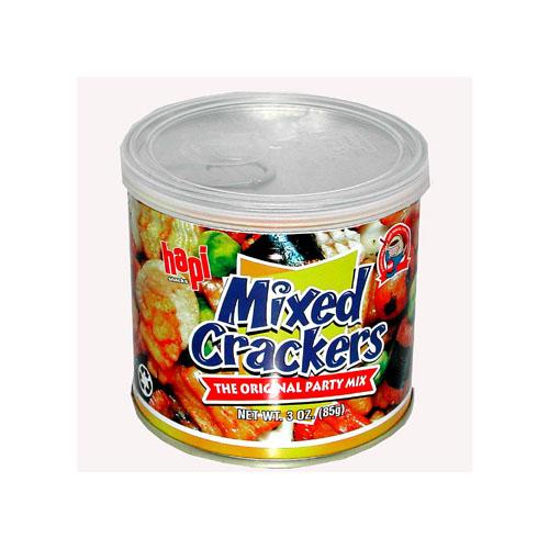 HAPI MIXED CRACKERS CAN SMALL 3oz