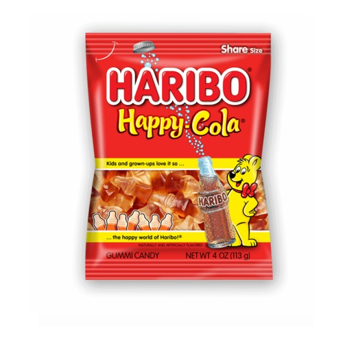 HARIBO GUMMY CANDY HAPPY COLA 5oz