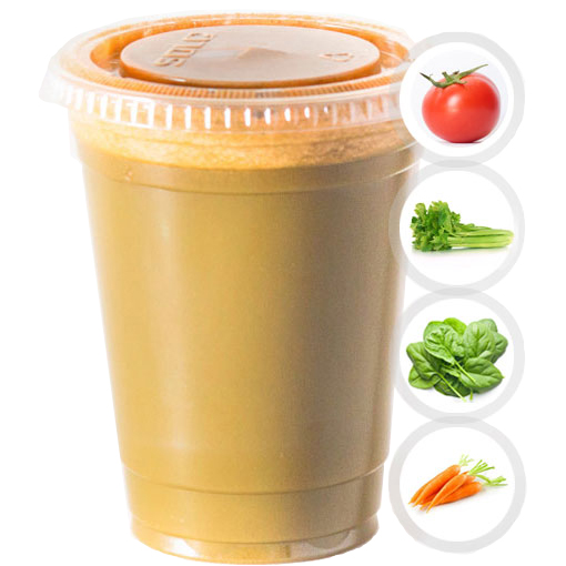 HEARTY (TOMATO, CELERY, SPINACH, CARROT) SELECT 16oz OR 20oz