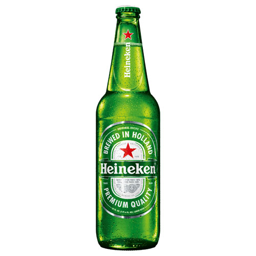 HEINEKEN LAGER BOTTLE 22oz