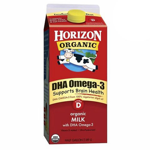 HORIZON ORGANIC MILK WHOLE OMEGA3 64oz