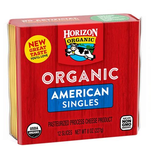 HORIZON ORGANIC SINGLES AMERICAN 8oz 1pc.