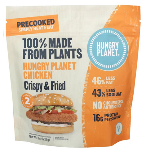 HUNGRY PLANET PLANT BASED CHICKEN FRIED 8oz