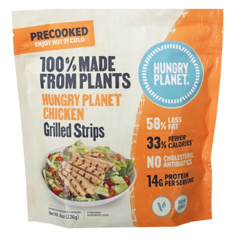 HUNGRY PLANET PLANT BASED CHICKEN GRILLED STRIPS 8oz