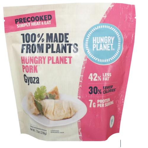 HUNGRY PLANET PLANT BASED GOYZA PORK 7.7oz