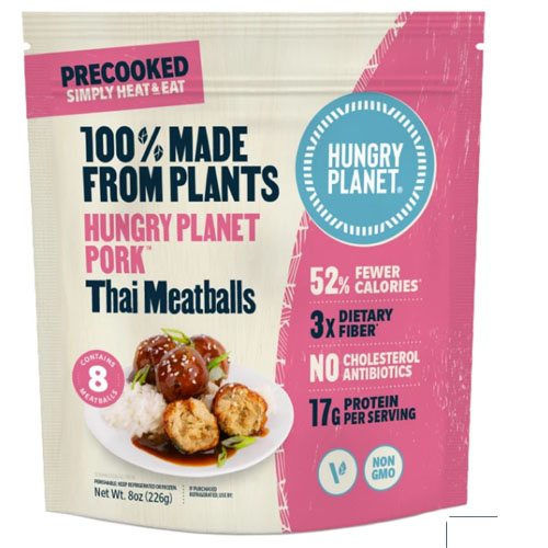 HUNGRY PLANET PLANT BASED MEATBALLS ASIAN 8oz