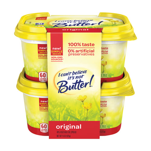 I CANT BELIEVE ITS NOT BUTTER ORIGINAL 15oz  2pk
