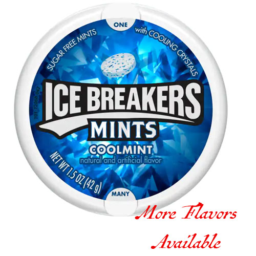ICEBREAKERS MINTS WITH COOLING CRYSTALS