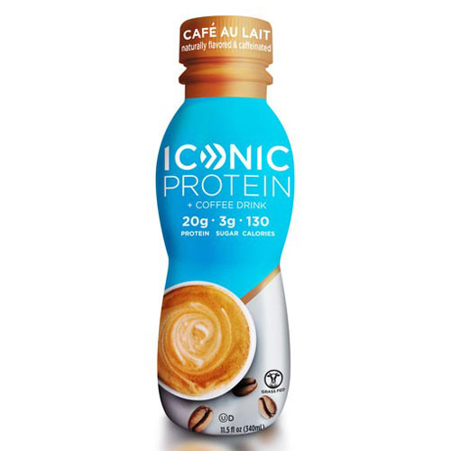 ICONIC PROTEIN  DRINK CAFE AU LAIT 11.5oz