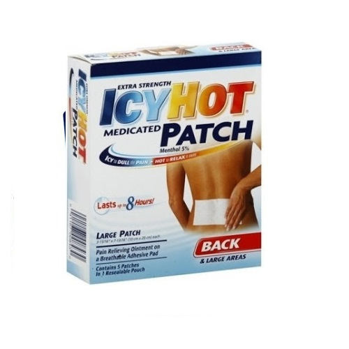 ICYHOT EXTRA STRENGTH PAIN RELIEVING MEDICATED PATCH 1.25oz